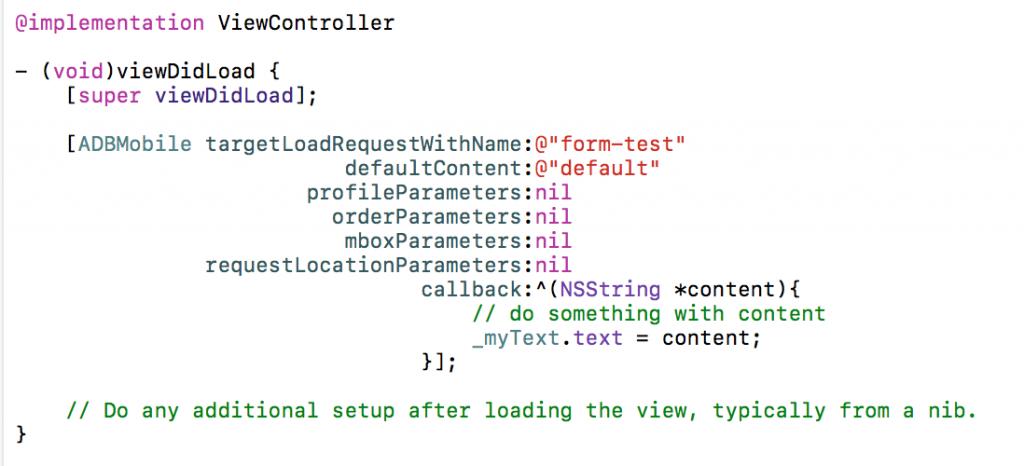 ABテストロケーションのリクエスト(iOS)